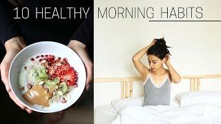 Download HEALTHY MORNING HABITS » + printable checklist Video
