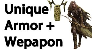 Download Skyrim : Easy Unique Weapons and Armor Guide Video