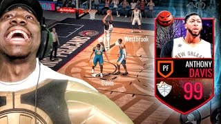 Download 99 MASTER ANTHONY DAVIS CAN'T BE STOPPED! NBA Live Mobile 16 Gameplay Ep. 35 Video