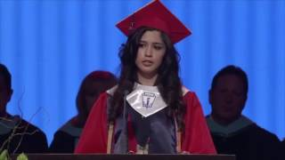 Download UNDOCUMENTED IMMIGRANT DELIVERS POWERFUL GRADUATION SPEECH Video
