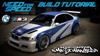 Download Need for Speed 2015 | Most Wanted BMW M3 GTR Build Tutorial | How To Make Video