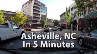 Download Asheville, NC in 5 minutes - 1000% High Speed Tour Video