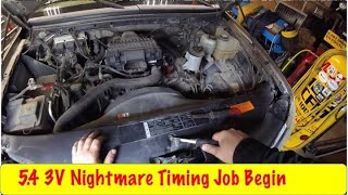 Download Start of the Ford 5.4 3V Timing Nightmare Video