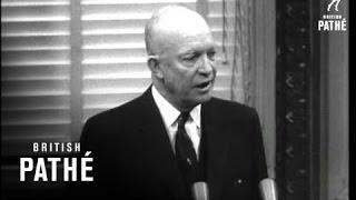 Download Eisenhower Gives Press Conference (1955) Video