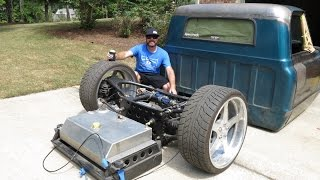 Download Finnegan's Garage Ep 19: Airbagged, Body Dropped, LS Swapped '67 Chevy C10 Project Video
