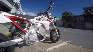 Download Demo Ride: Alta Redshift SM (electric supermoto) Video