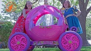 Download Little Princesses 5 -The Mechanic, The Ride On Pink Disney Princess Carriage, and The Lesson Video