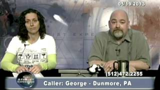 Download Matt Dillahunty - A believer calls in and get destroyed - Atheist Experience Video