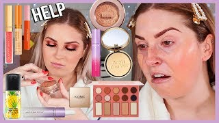Download FULL FACE of FIRST IMPRESSIONS 💦 lots of NEW drugstore makeup yasss beeetch Video