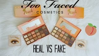 Download REAL vs FAKE $10: Too Faced Sweet Peach Palette (How To Spot) Video