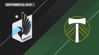 Download HIGHLIGHTS: Minnesota United FC vs. Portland Timbers | September 22, 2018 Video