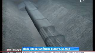 Download Tren subteran intre Europa si Asia Video