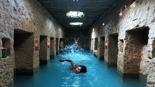 Download Build The Most Secret Ancient Underground Temple And Swimming Pool Video