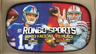 Download Ronbo Sports In Yo Face At Yo Place Watching 49ers VS Giants NFL 2018 Week 10 Video