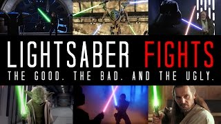 Download EXAMINING LIGHTSABER FIGHTS - The Good, The Bad, and The Ugly Video