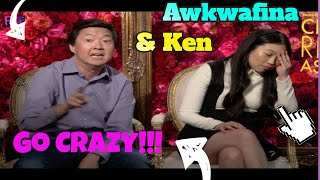 Download Awkwafina & Ken Jeong Goes CRAZY rapping!!! ″Crazy Rich Asians″ Video