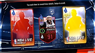 Download NBA LIVE MOBILE | PULLED THE 91 OVERALL BEST ONE! BEST PACK LUCK! 18x GOLD/ELITE FAN FAVORITE PACKS! Video