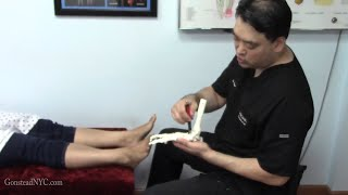 Download Chronic ankle pain from 1 year old ankle injury - Specific Chiropractic NYC Video