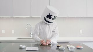 Download How To Make Sushi - California Roll | Cooking with Marshmello Video