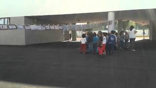 Download La Grande Lessive du 16 octobre 2014 au Maroc à Rabat,école primaire française André Chénier. Video