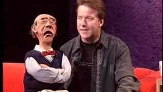 Download Ventriloquist Jeff Dunham brings Walter on BU Tonight Video