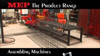 Download MEP FAMILY PRODUCTS Assembling Machines cages Video