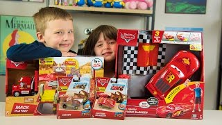 Download Disney Cars Lightning McQueen RC Toy Car & MACK Truck Playset Toy Cars for Boys Kinder Playtime Video