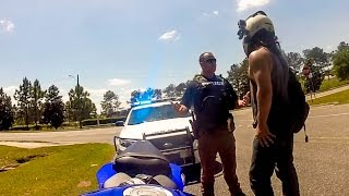 Download POLICE vs. BIKERS | MOTORCYCLES GETTING PULLED OVER | COOL COPS | Video