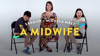 Download Kids Meet A Midwife (Sandor & Michela) | Kids Meet | HiHo Kids Video