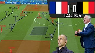 Download How France Tactically Outclassed Belgium: Tactical Analysis Video