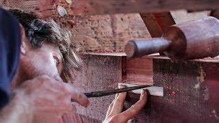 Download Bedding Wooden Boat Frames / Packing Up Shop! - Rebuilding Tally Ho EP31 Video