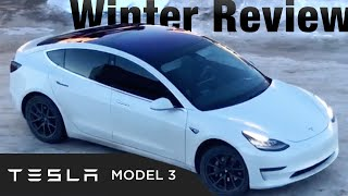 Download Tesla Model 3 Review (Winter): Why you NEED Long-Range Battery! Video
