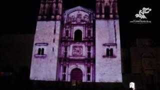 Download Proyección 2016 del Video Mapping en Santo Domingo, Oaxaca (diciembre) Video