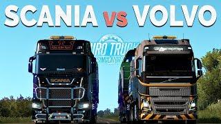 Download ETS2 - Comparison Scania vs Volvo (730HP vs 750HP) Video