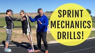 Download Sprint Mechanics Drills | How To Lean For Speed Video