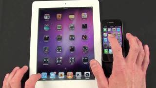 Download Apple iPad 2 vs iPhone 4: Speed & Performance Comparison Video