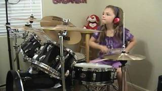 Download AC/DC ″Who Made Who Live 92″ a Drum Cover by Emily Video