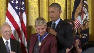 Download Obama Awards Medal of Freedom to Artists, Others Video