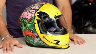 Download ICON Airframe Pro Brozak Helmet Review at RevZilla Video