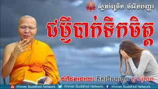 Download ជម្ងឺបាក់ទឹកចិត្ត, គូ សុភាព, Kou Sopheap 2018, Kou Sopheap Dhamma Talk, Khmer Buddhist Network Video