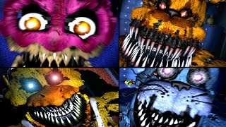 Download ALL JUMPSCARES Five Nights At Freddy's 1, 2, 3, 4 (FNAF, FNAF 2, FNAF 3, FNAF 4) FNAF Jumpscares Video