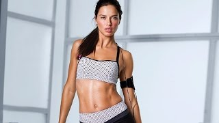 Download Adriana Lima Workout By Herself   Official HD Video - 2014 Video