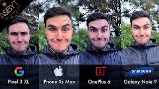 Download Pixel 3 XL vs iPhone Xs Max vs OnePlus 6 vs Samsung Galaxy Note 9! | CAMERA Comparison Test Review! Video