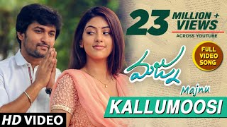 Download Majnu Video Songs | Kallumoosi Full Video Song | Nani | Anu Immanuel | Gopi Sunder Video