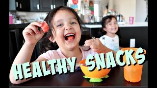 Download Getting Kids to Eat Healthy Snacks- ItsJudysLife Vlogs Video