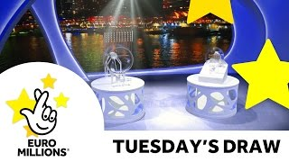 Download The National Lottery Tuesday 'EuroMillions' draw results from 27th September 2016 Video
