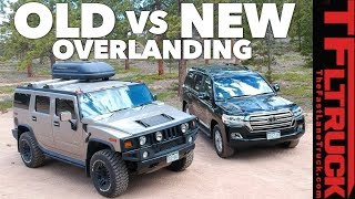 Download Old vs New: Best Overlander? Toyota Land Cruiser vs World's Most Hated Truck Video