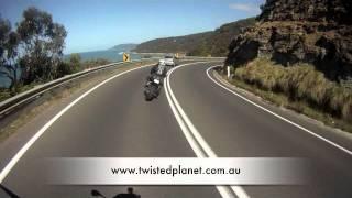 Download Great Ocean Road to Lorne - Australia's best biking roads Video