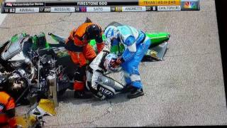 Download Wreck at Indy Race in Texas. Coner Daly Reaction Video