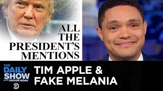 Download Fake Melania, Tim Apple & Trump's Six Degrees of Corruption | The Daily Show Video